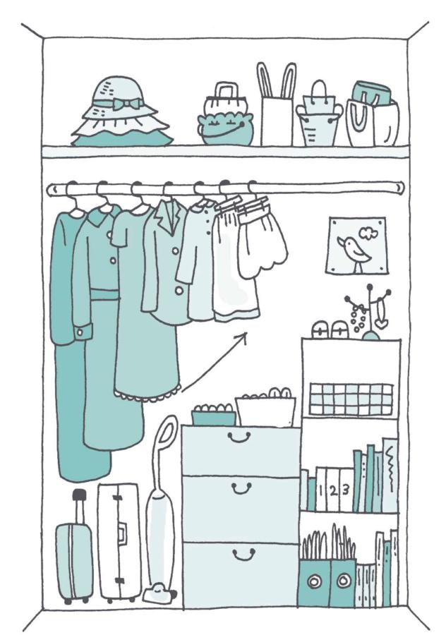 Konmari - metoden: Rydde og organisere garderobeskapet
